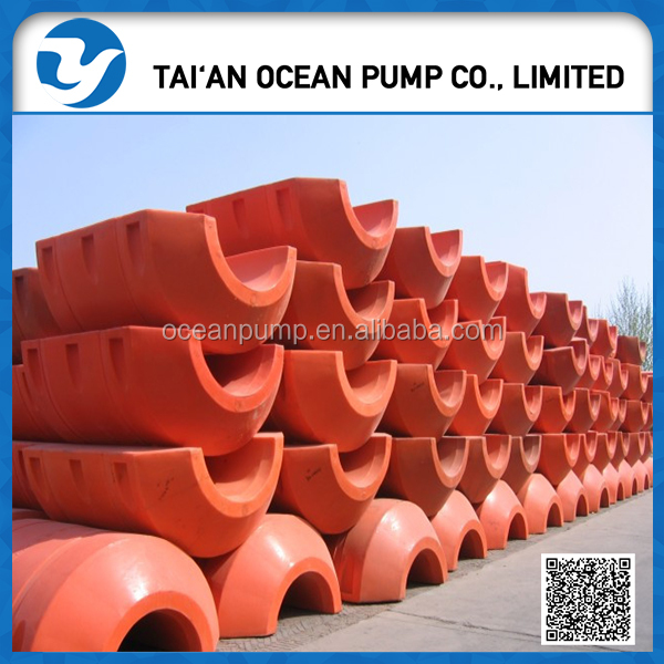 plastic float pontoon for sand discharge pipe