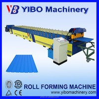 High Efficiency xiamen corrugated clip lock roof tile roll forming machine