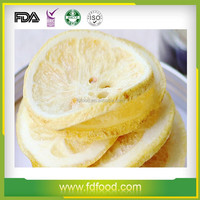 wholesale freeze dried fruit food FD lemon tea