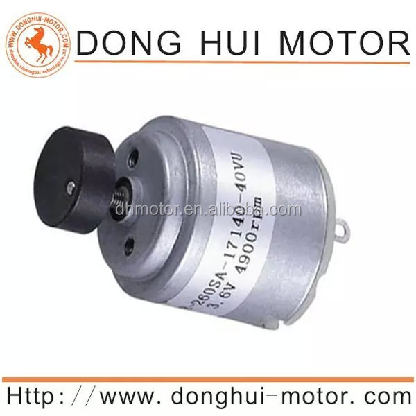 RC260 12v 6000rpm dc motor for motorized toy
