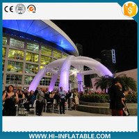Custom made large outdoor party / event use inflatable tent with 6 legs for sale