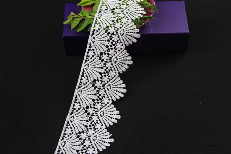 Africa guipure water soluble chemical lace trim