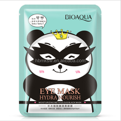 BIOAQUA eye mask sleep mask remove dark circles eye patch cloth material fabric