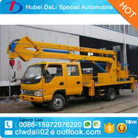 12-14M JAC lifting platform high up truck