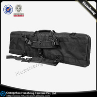 Tactical Scoped Rifle Long Gun Case Padded Carry Bag BLACK