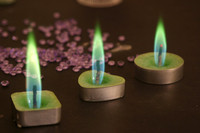 Fashion color flame Birthday and party Candle