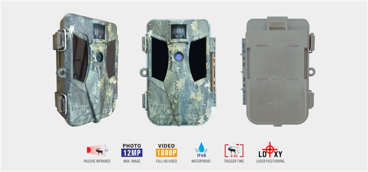 940nm Outdoor Recording Deer Scouting Chase Game Trail Camera for Deer Bow Hunting Sports