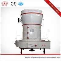 Large capacity efficient hot flour mill stone and machine