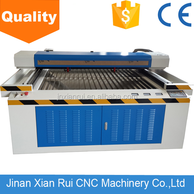 Factory price jq 1390 100w laser machine for cutting and engraving for carpet mats,leather,rubber,pvc,fabric