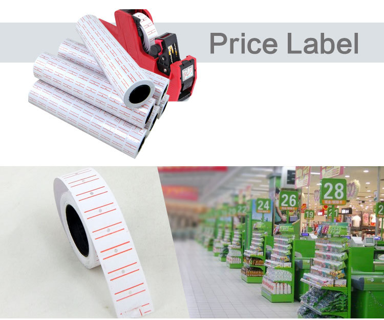 price tag gun label 21x12mm price label 10 roll/pack free shipping