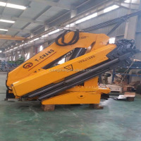 top exported 10ton knuckle boom truck crane with ISO