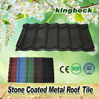 high qualty aluminium zinc roofing sheets/metal stone tiles cost