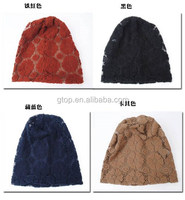 lace slouchy baggy hats hood caps SH-008
