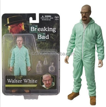 "Breaking Bad Walter White 6"" Action Figure Mezco Toyz Blue"