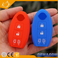 High quality food grade silicone materials skin protect car key fob cover shell case for Elgrand