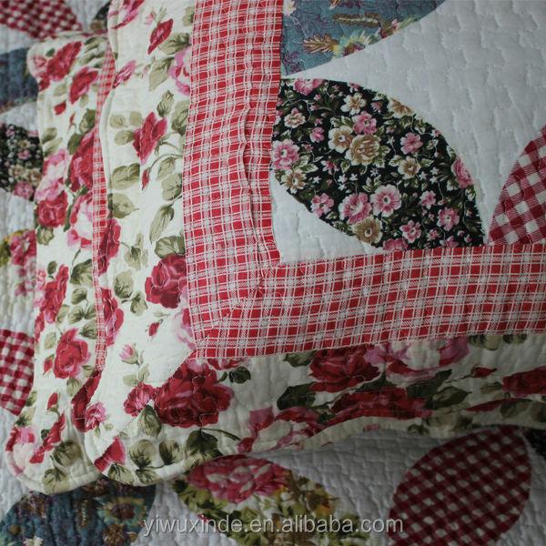 Vente en gros 100 main patchwork couvre lit en coton - Patchwork modele gratuit dessus de lit ...
