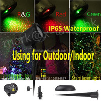 Hot new products Christmas laser light garden starry star laser projector shower for outdoor