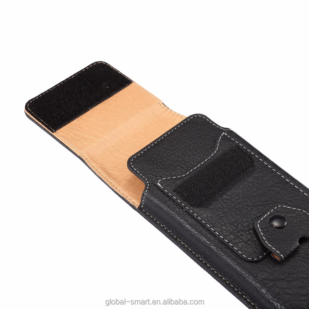 2017 most popular belt clip mobile phone leather men waist cover holder for iphone7/7 plus
