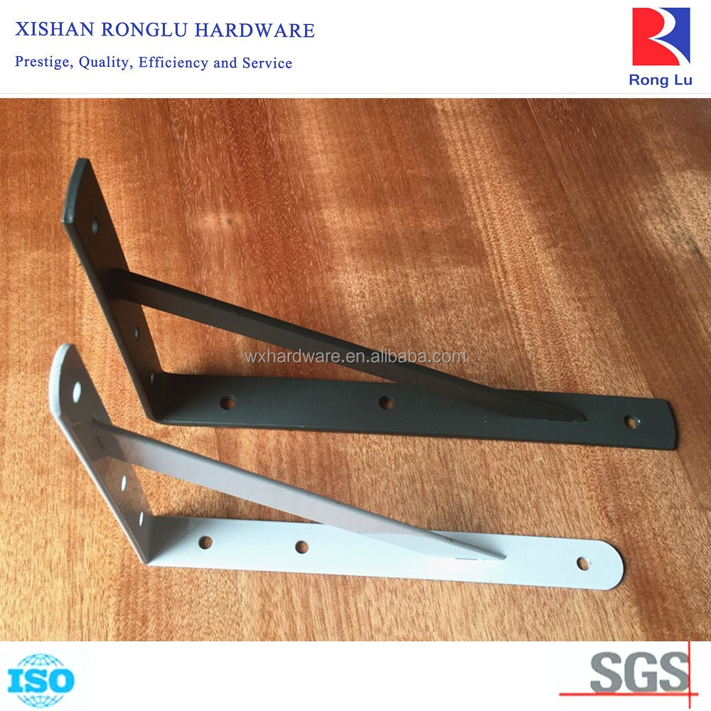 OEM Wall Mount Metal Triangular Shelf Bracket