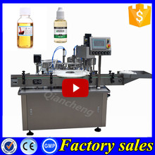Brand new technology 30ml ecig oil filler and capper, 150ml e-cig filling packaging machine
