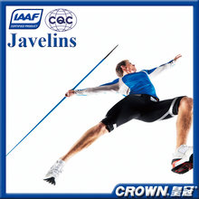 IAAF Certification High quality crown track & field sports goods training & competition javelin, Aluminum Alloy javelin throw