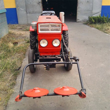 HUAXIA 12HP 15HP 16HP mini tractor with plough /mower