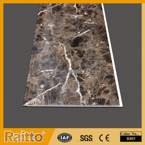 RAITTO Brand Colorful Marble PVC Wall Panel PVC Wall Cladding