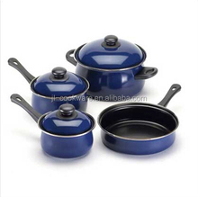 12PCS cast iron stainless steel cookware (JL-070117)