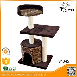 Eco-Friendly Materials Catnip Treated cat tree house for big cats