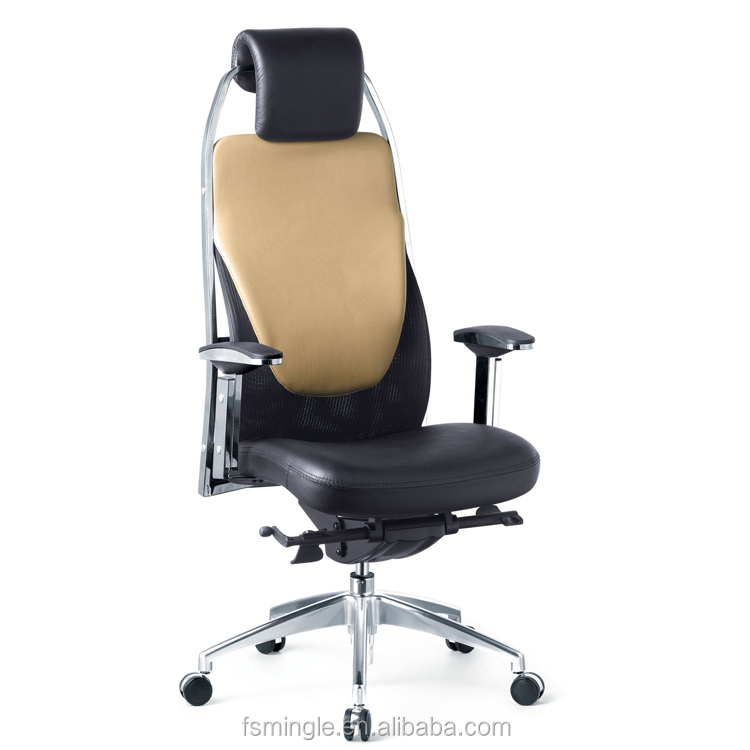 High performance full mesh back office chair and high density seat cushion in different colour