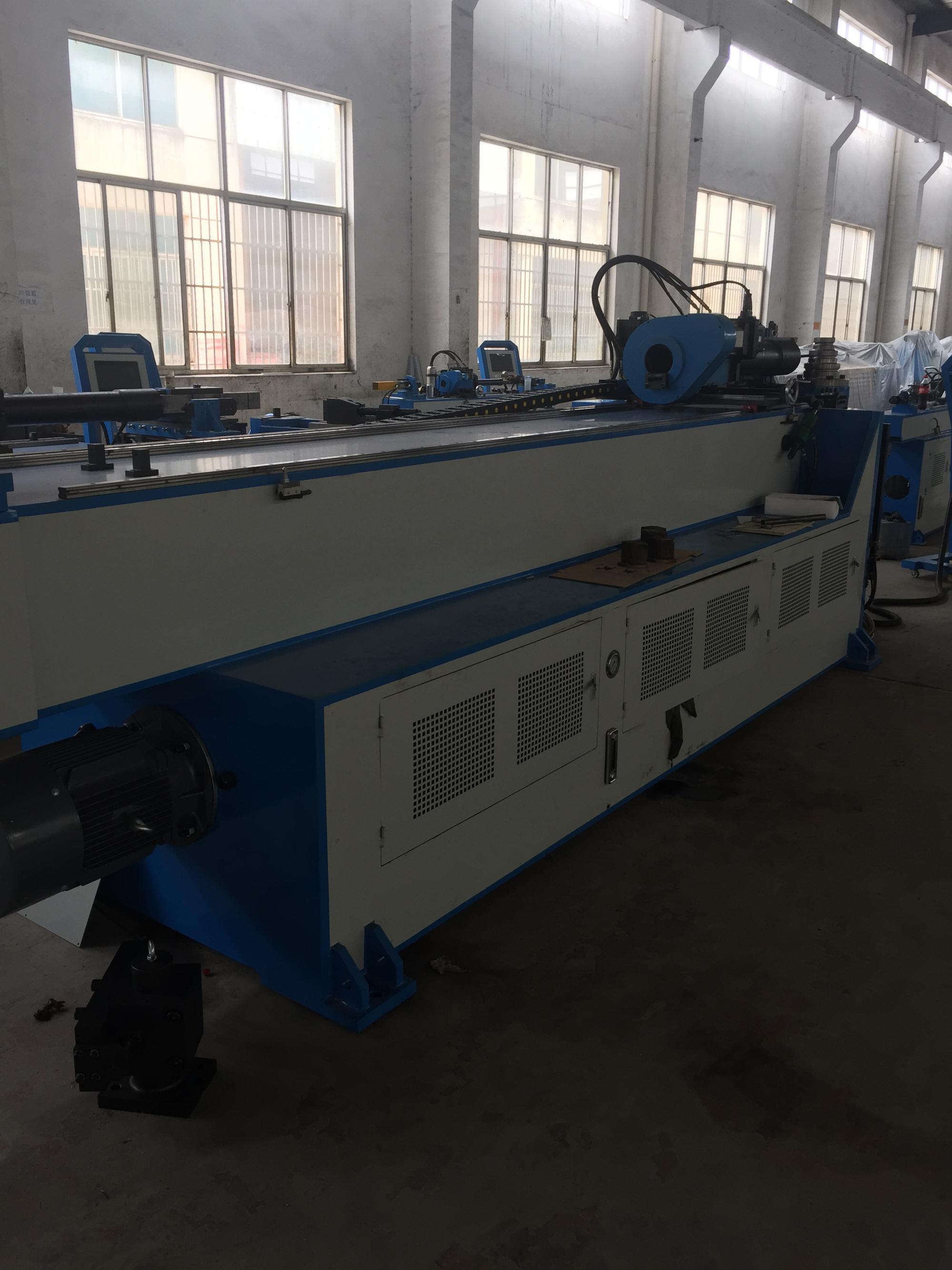full -automatic CNC pipe bending machine for big exhaust pipe GM-114CNC-2A-1S