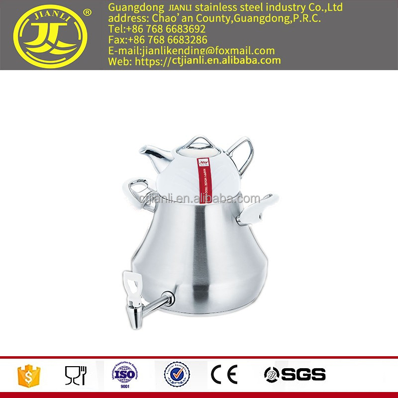 For home portable pot for sale Stainless steel coffee kettle stainless steel tea kettle for Middle East steam jacketed kettle