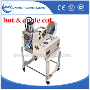 PFL-890X New product UK ribbon cutting machine with hot bevel blades