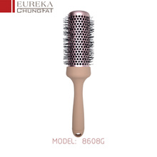 8608G Professional Hairdresser Creative Rolling Salon Ceramic Hair Brush