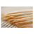 Bamboo toothpicks individual paper wrapped