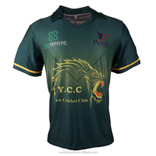 New design custom sublimation cricket uniforms(cricket jerseys+cricket pants)