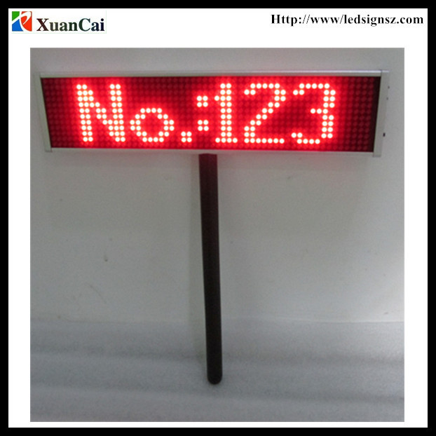 P5-12x56 Air port, Bus/railway station, Concert use Handheld LED Paging board/Placard display