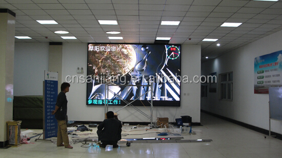 P8 indoor LED display full color smd high brightness screen board module