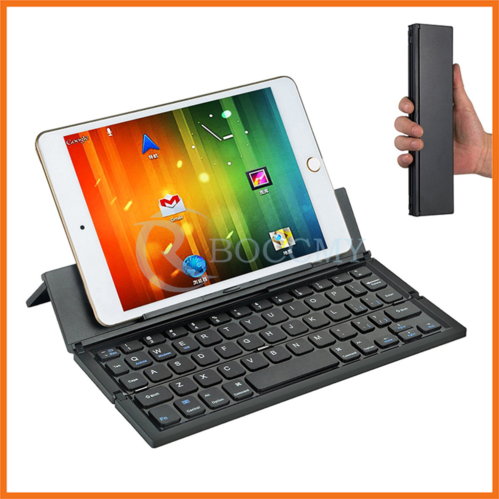 Support IOS Android System Universal Wireless Portable V3.0 Folding Bluetooth Keyboard