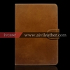 Luxury Cowhide Leather Accessories For Ipad Mini 2 Leather Case With Stand Function,Genuine Leather Tablet Case For Ipad Mini 2
