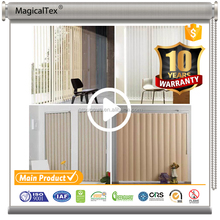 Home Decor Good Quality Folding Vertical Blinds