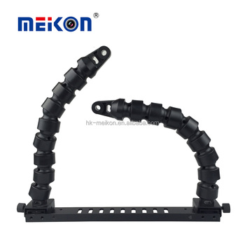 wholesale diving equipment manufacturer 12'' flex arm meikon dive digital camera housing tray