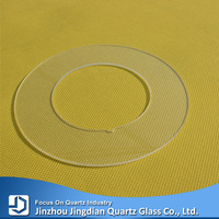 ROUND THIN OPTICAL QUARTZ GLASS PLATE/RING