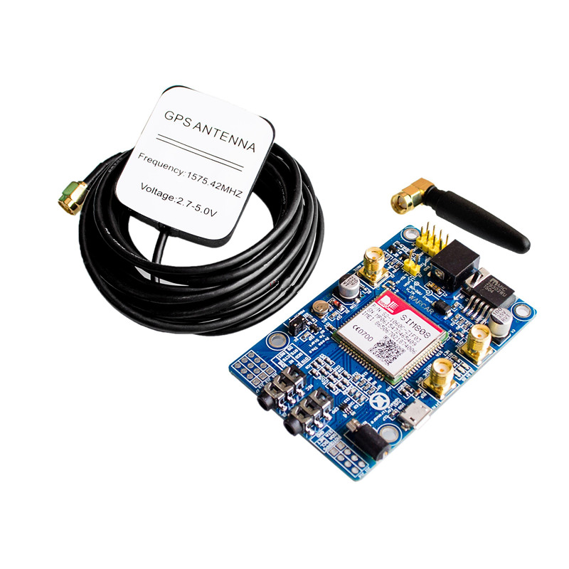 SIM808 Module GSM GPRS GPS Development Board Support 2G 3G 4G SIM Card