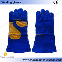 CE welding safety gloves good feeling soft for hands cheap and durable famous brand durable anti-abrasion