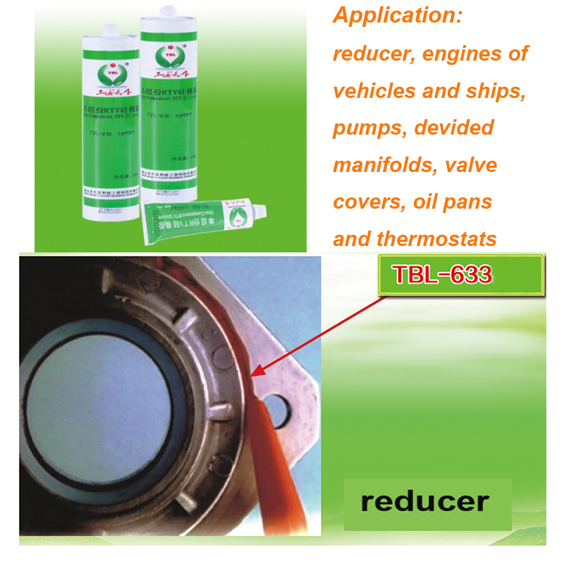 RTV Silicone Rubber Planar Sealing Adhesive