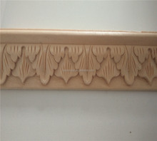 Natural wood mouldings carving sculptures strip furniture wood mouldings