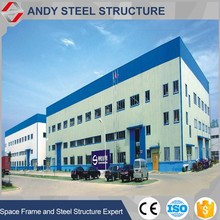 Galvanized dome steel warehouse building
