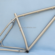 highly polished titaium bike frame with CE certificate