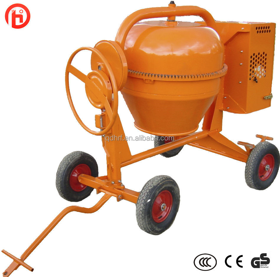Construction machinery garden mini concrete mixer pcm125 for Cement mixer motor for sale